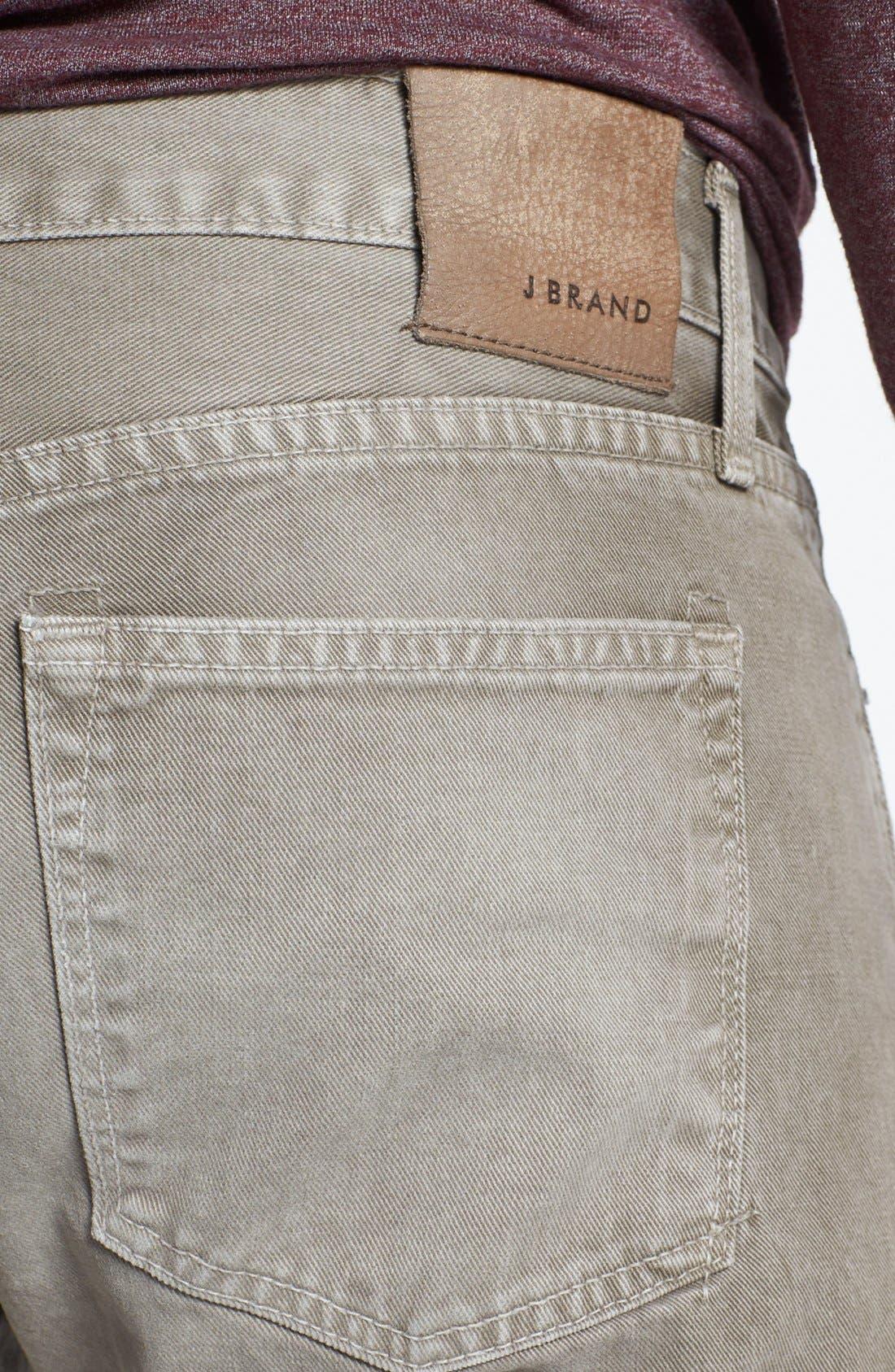 Alternate Image 4  - J Brand 'Kane' Slim Fit Jeans (Washed Boulder)