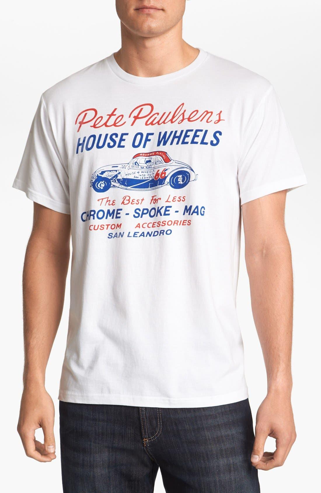 Main Image - Horses Cut Shop 'Peter Paulsen's House of Wheels' T-Shirt