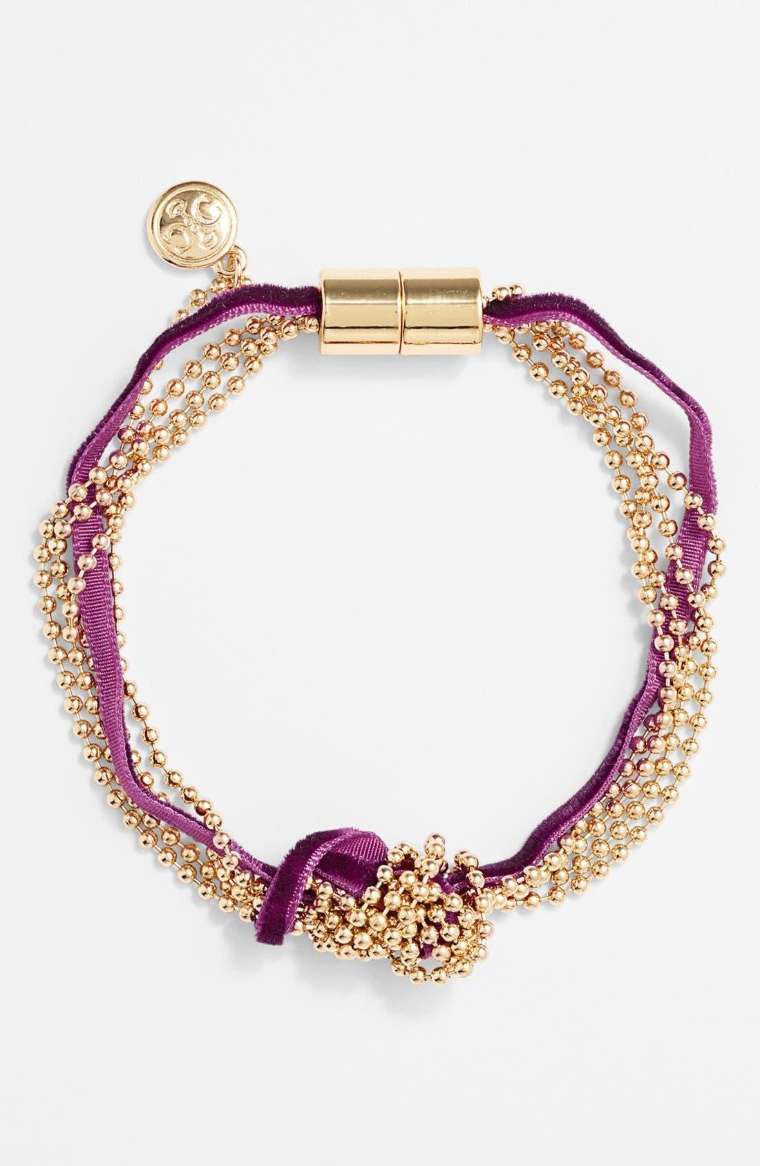 Alternate Image 1 Selected - Carbon Copy Knotted Tassel Bracelet