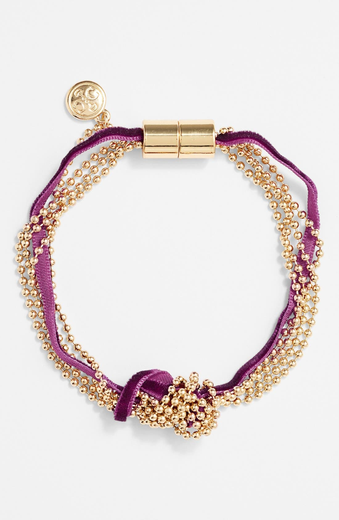 Main Image - Carbon Copy Knotted Tassel Bracelet