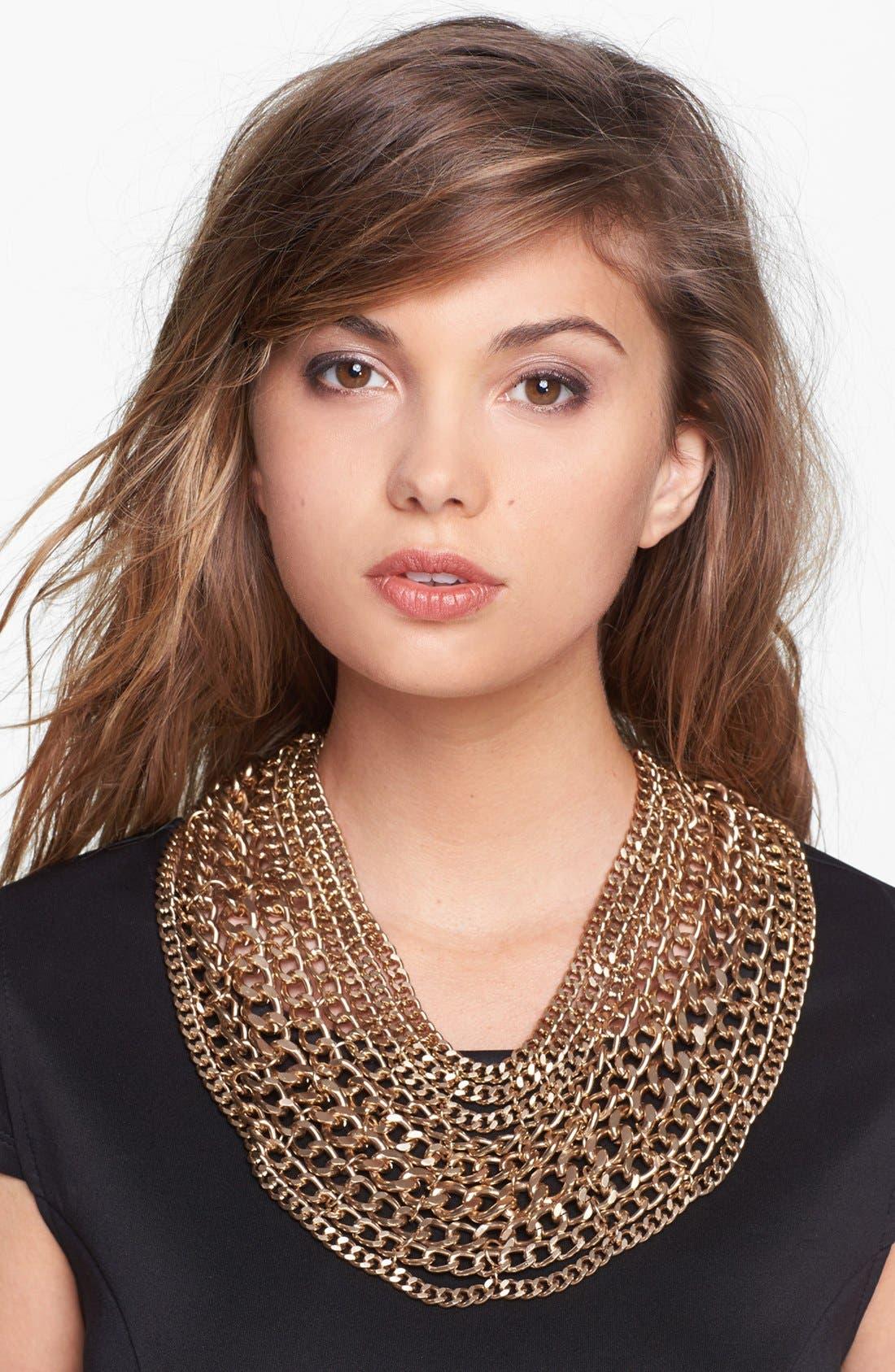 Main Image - Tasha 'Main Chain' Collar Necklace