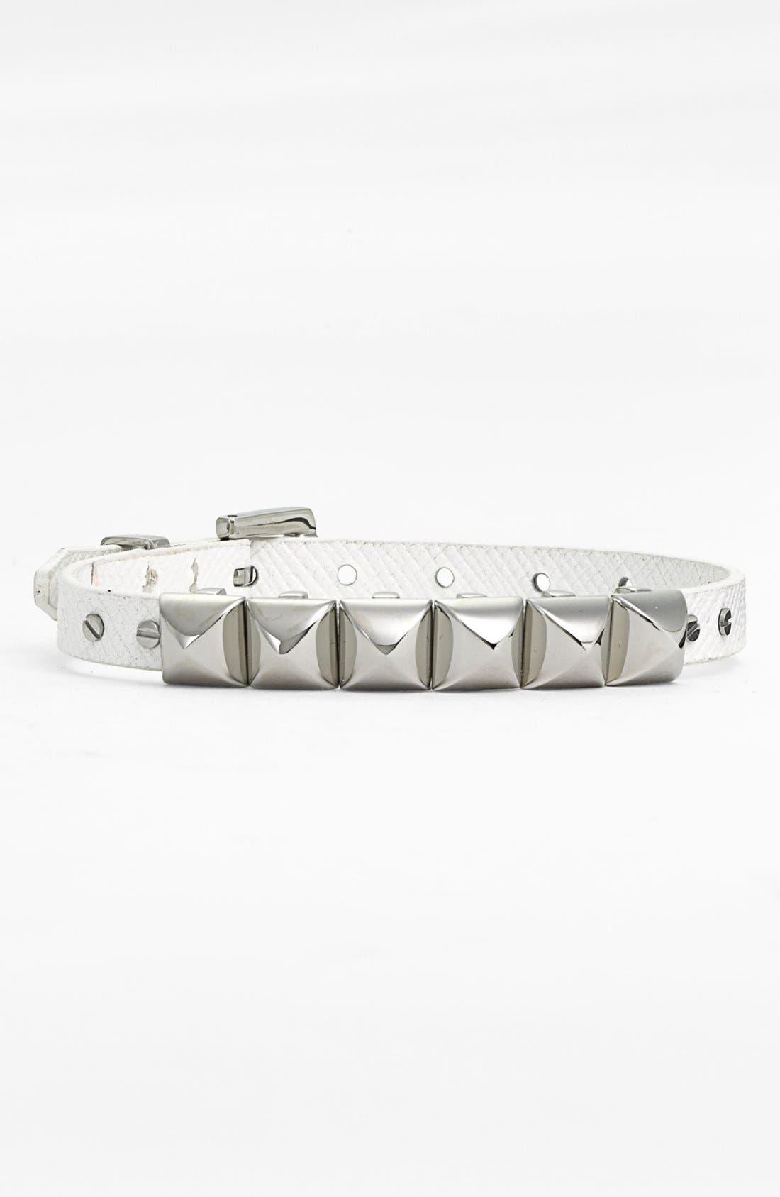 Alternate Image 2  - Michael Kors Leather Bracelet