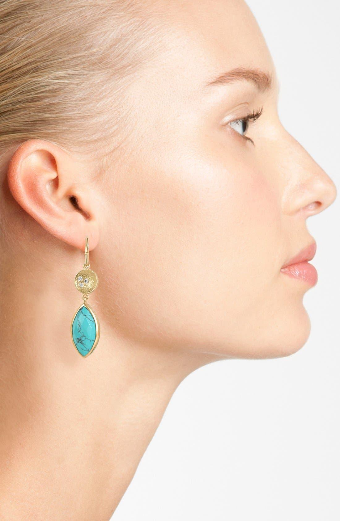 Alternate Image 2  - Melinda Maria 'Dory' Drop Earrings