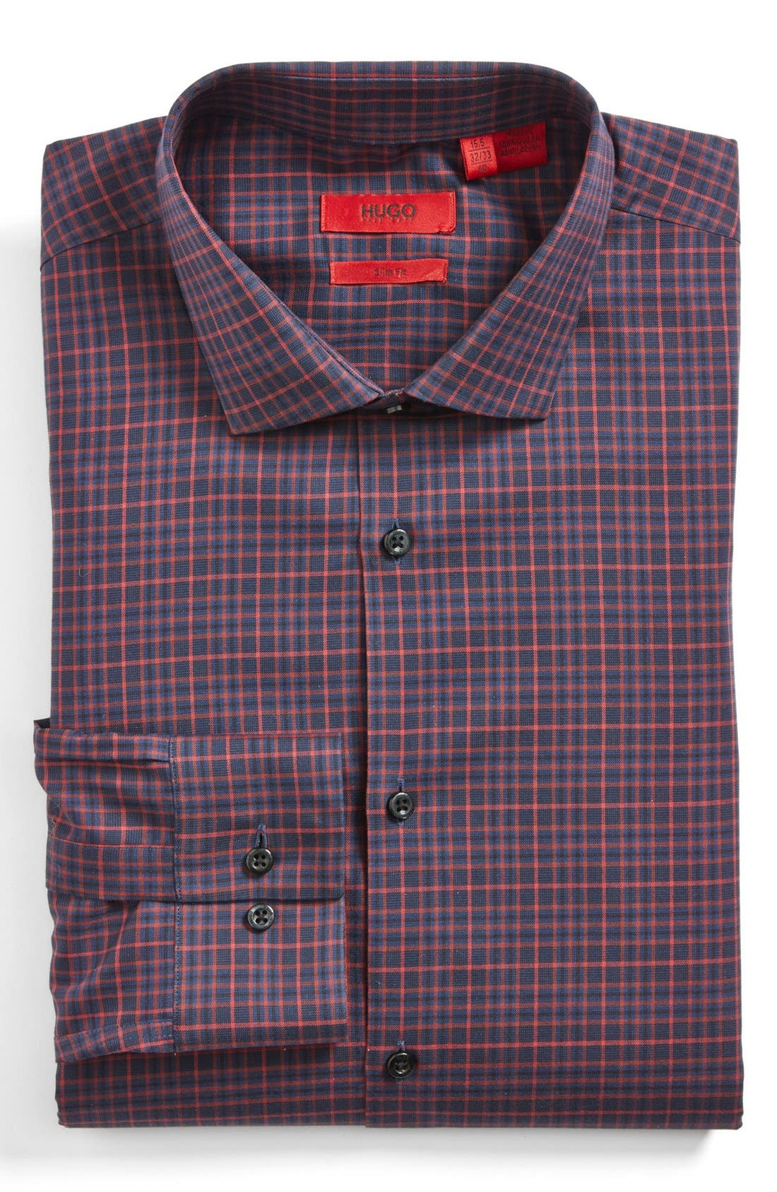 Alternate Image 1 Selected - HUGO 'Endersonx' Modern Fit Dress Shirt