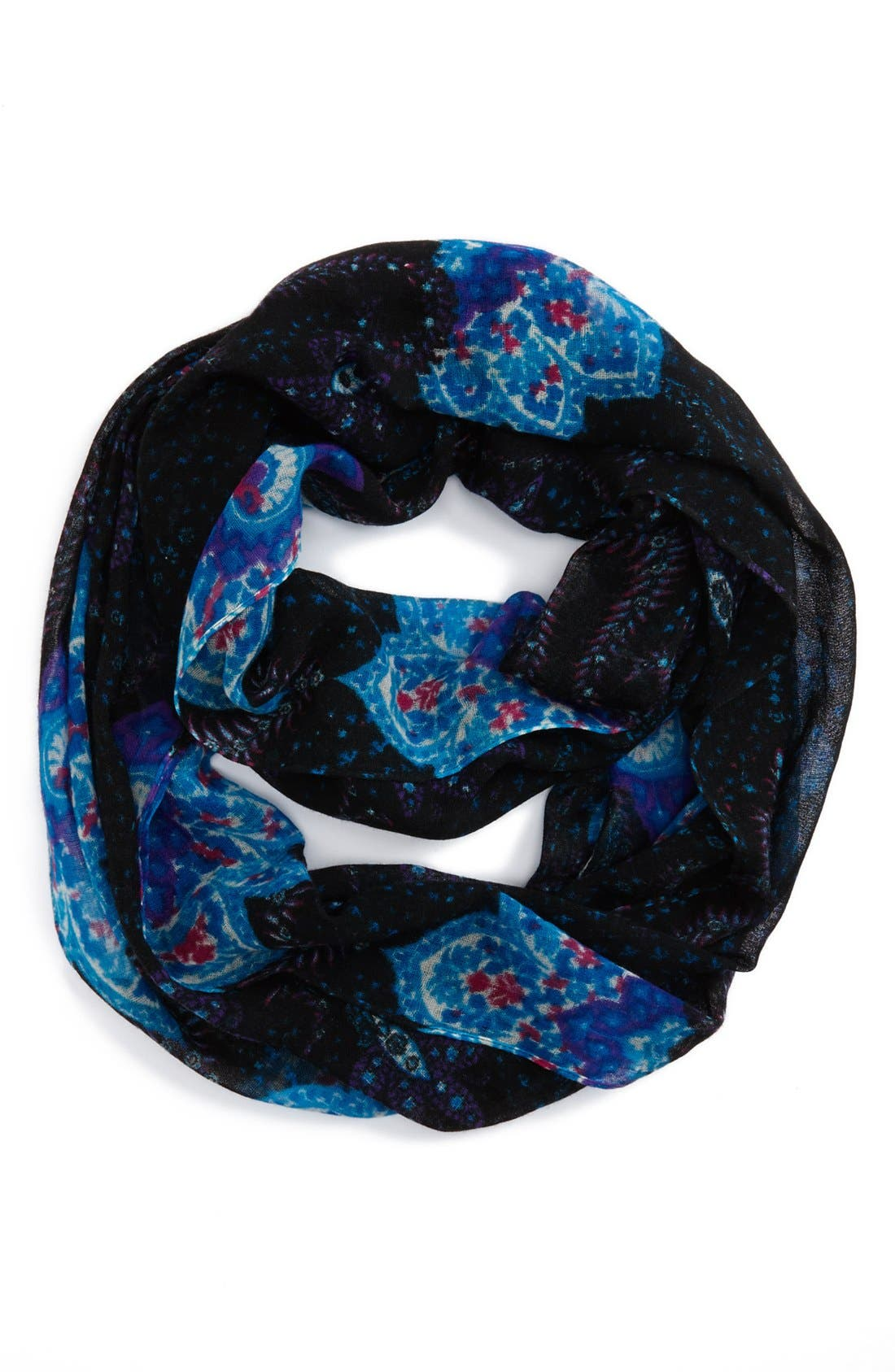 Alternate Image 1 Selected - Lulla Collection by Bindya Paisley Wool Infinity Scarf