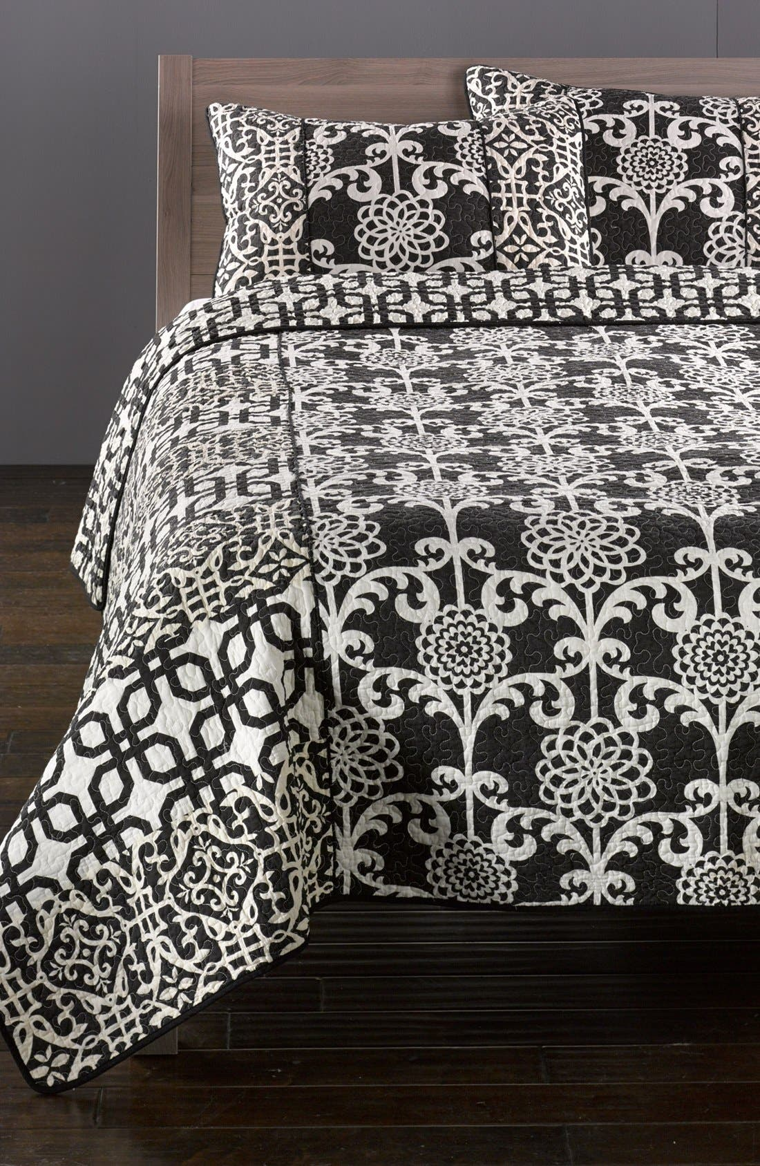 Alternate Image 1 Selected - Hedaya Home Fashions 'Carlton' Reversible Quilt