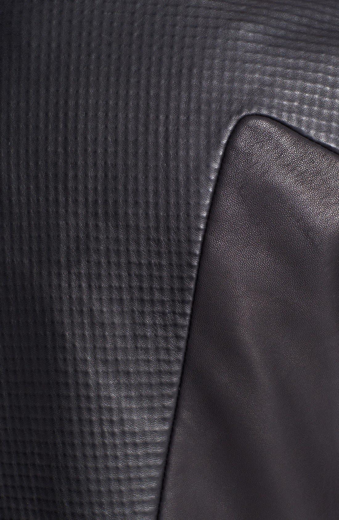 Alternate Image 4  - rag & bone 'Hudson' Deerskin & Lambskin Leather Moto Jacket