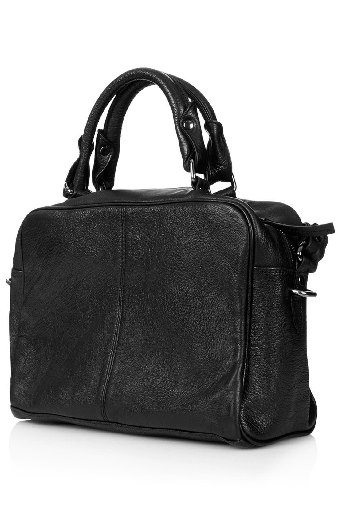 Alternate Image 4  - Topshop 'Medium' Leather Satchel