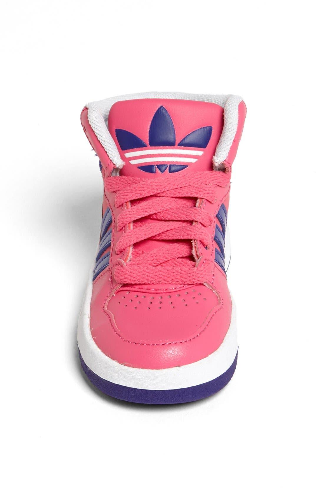 Alternate Image 3  - adidas 'Court Attitude' Sneaker (Baby, Walker & Toddler)