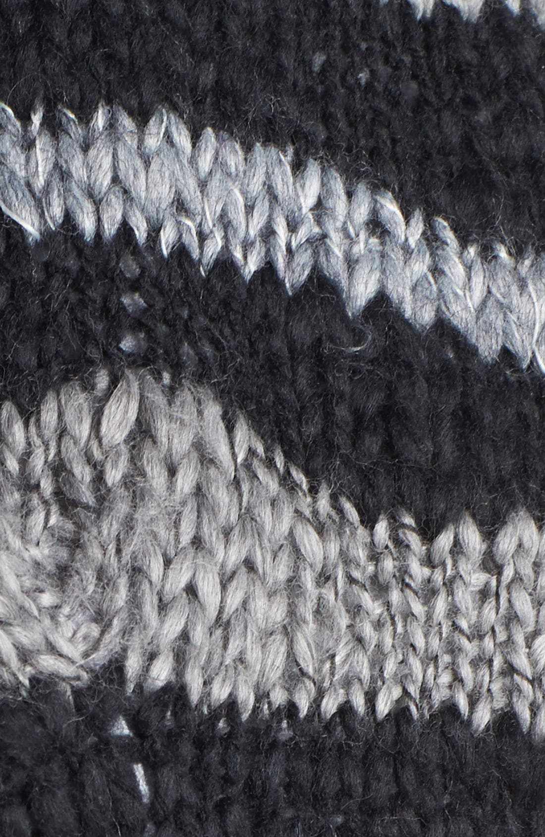 Alternate Image 2  - Free People Stripe Knit Mittens