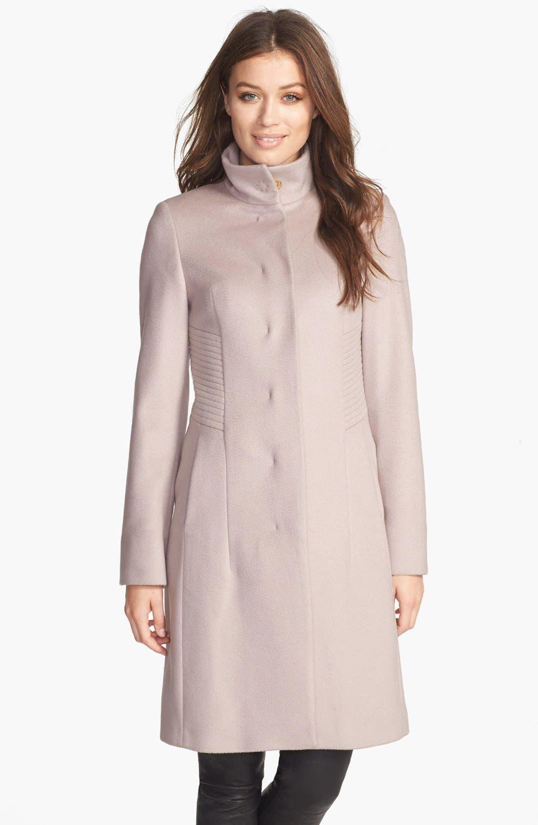 Main Image - BOSS HUGO BOSS 'Camilla' Wool Coat