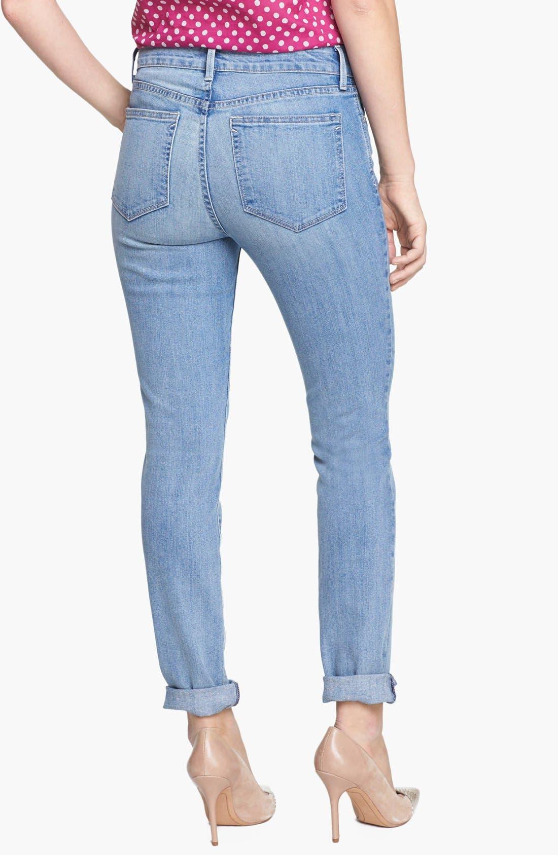 Alternate Image 2  - NYDJ 'Anabelle' Stretch Skinny Jeans (Sacramento)