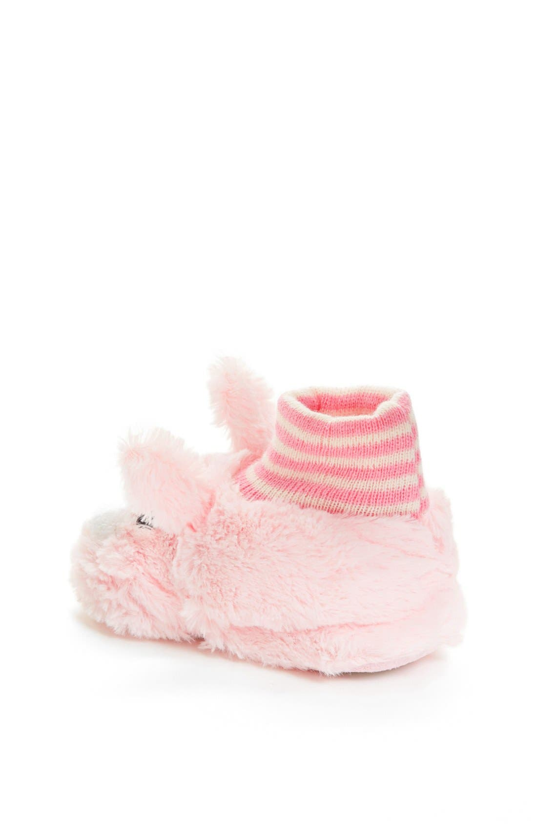 Alternate Image 2  - Nordstrom Bunny Slippers (Walker, Toddler & Little Kid)