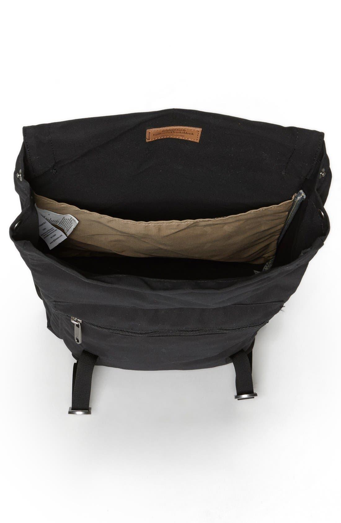 'Foldsack No. 1' Backpack,                             Alternate thumbnail 4, color,                             Black