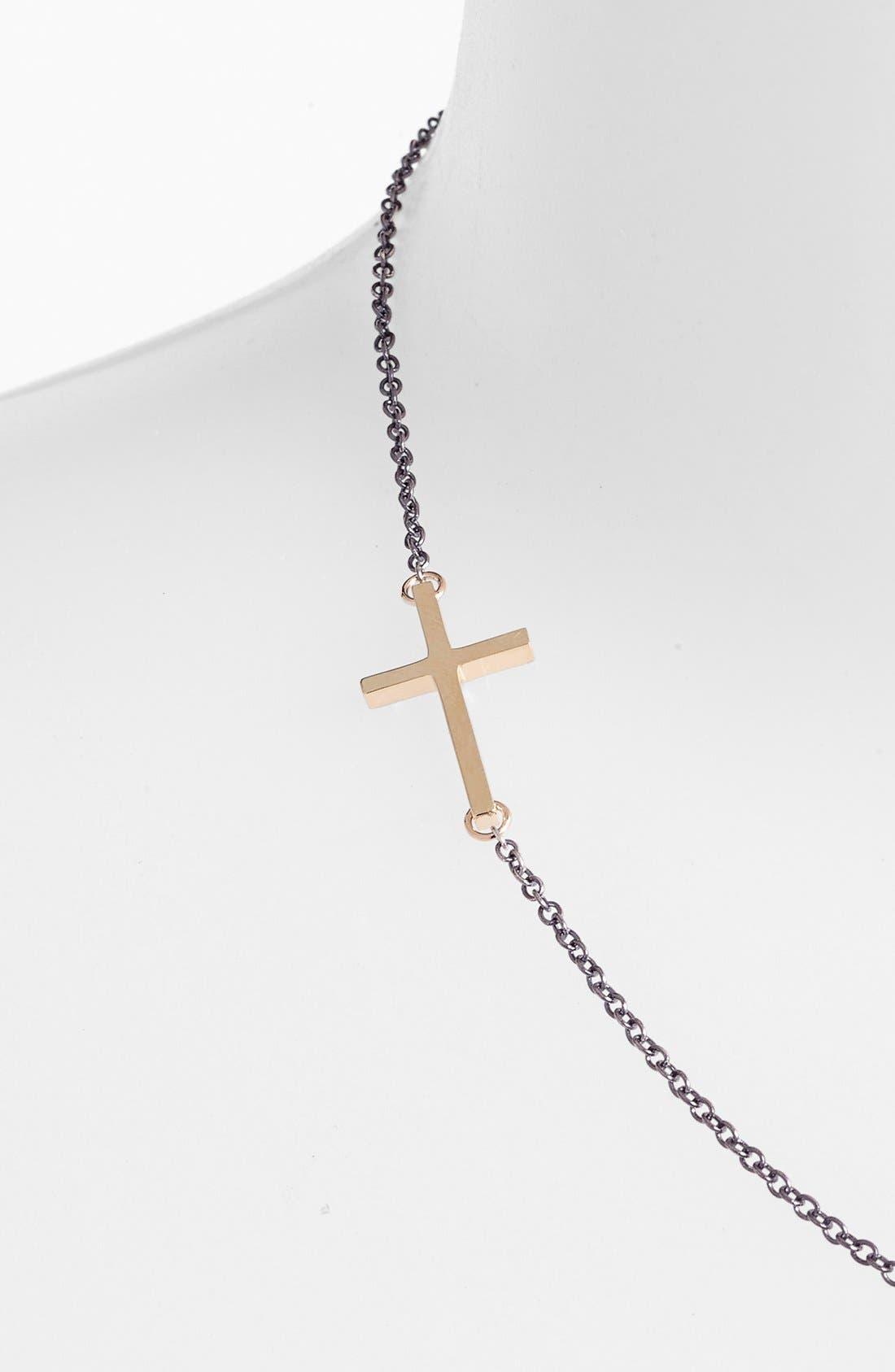 Alternate Image 2  - Mizuki Cross Station Necklace