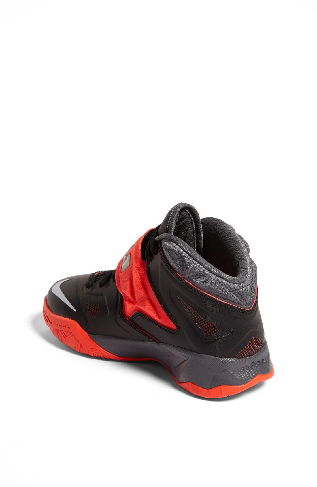Alternate Image 2  - Nike 'LeBron Zoom Soldier VII' Basketball Shoe (Big Kid)