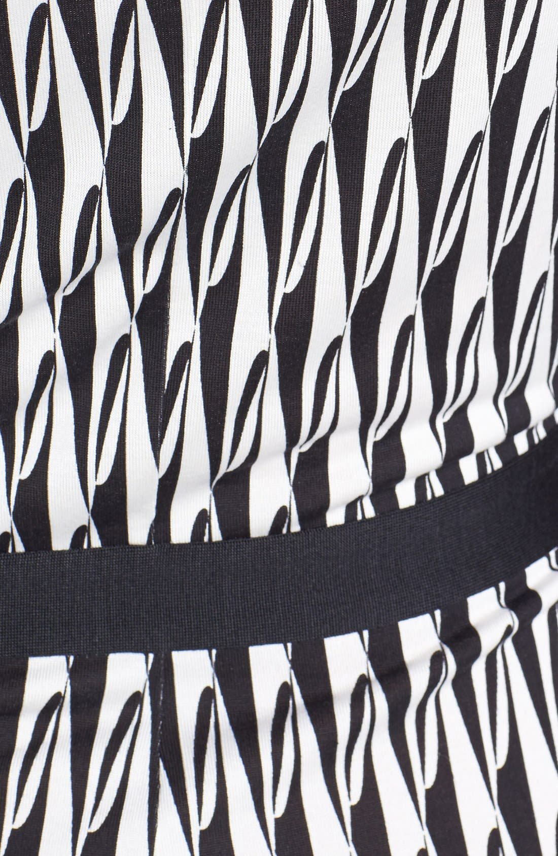 Alternate Image 3  - Diane von Furstenberg 'Fiona' Button Front Knit Silk Dress