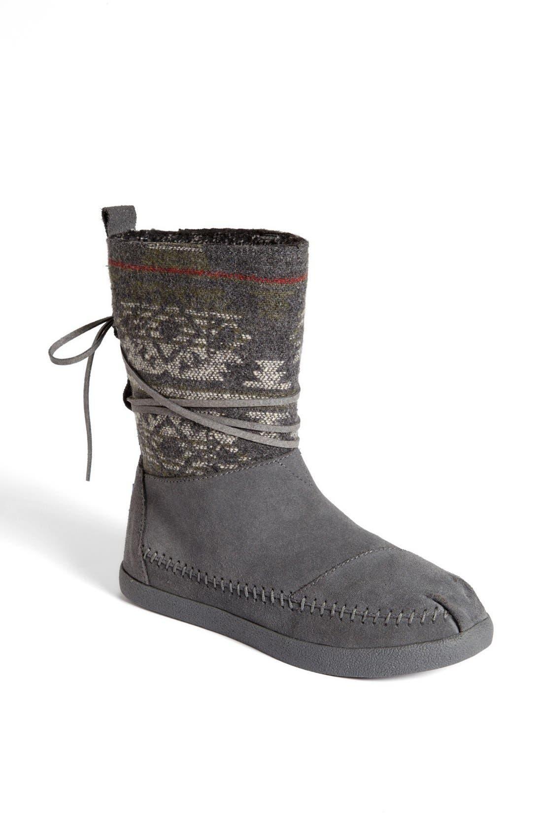 Alternate Image 1 Selected - TOMS 'Nepal - Jacquard' Boot (Women)