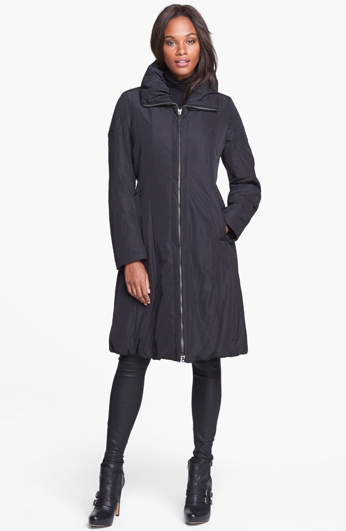 Alternate Image 1 Selected - Creenstone Bubble Hem Thermal Insulated Raincoat