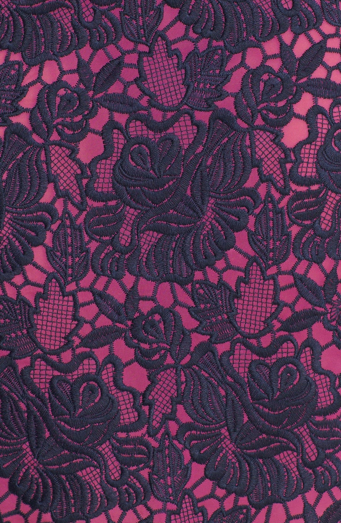 Alternate Image 3  - Felicity & Coco Lace Peplum Sheath Dress (Regular & Petite) (Nordstrom Exclusive)