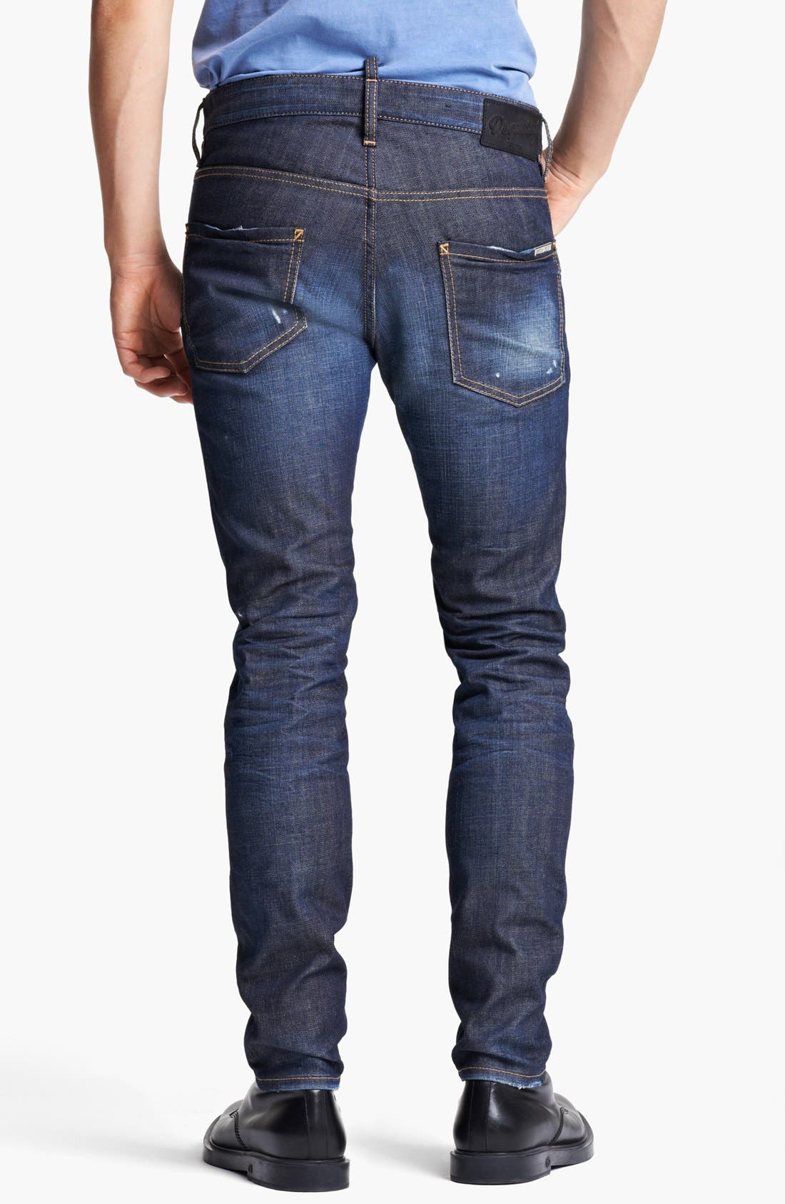 Alternate Image 2  - Dsquared2 'Cool Guy' Skinny Fit Jeans (Blue)