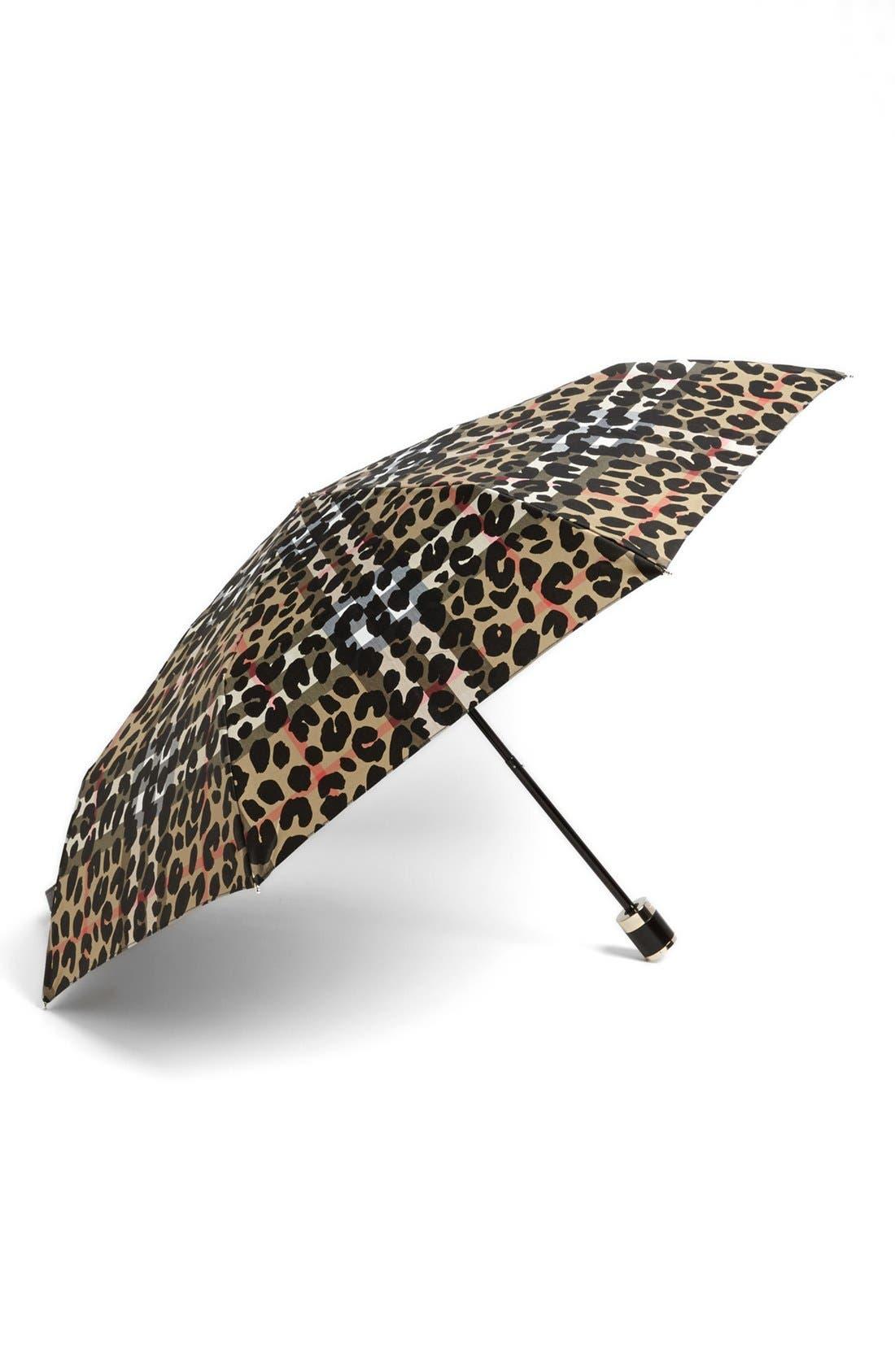 Main Image - Burberry London Compact Umbrella
