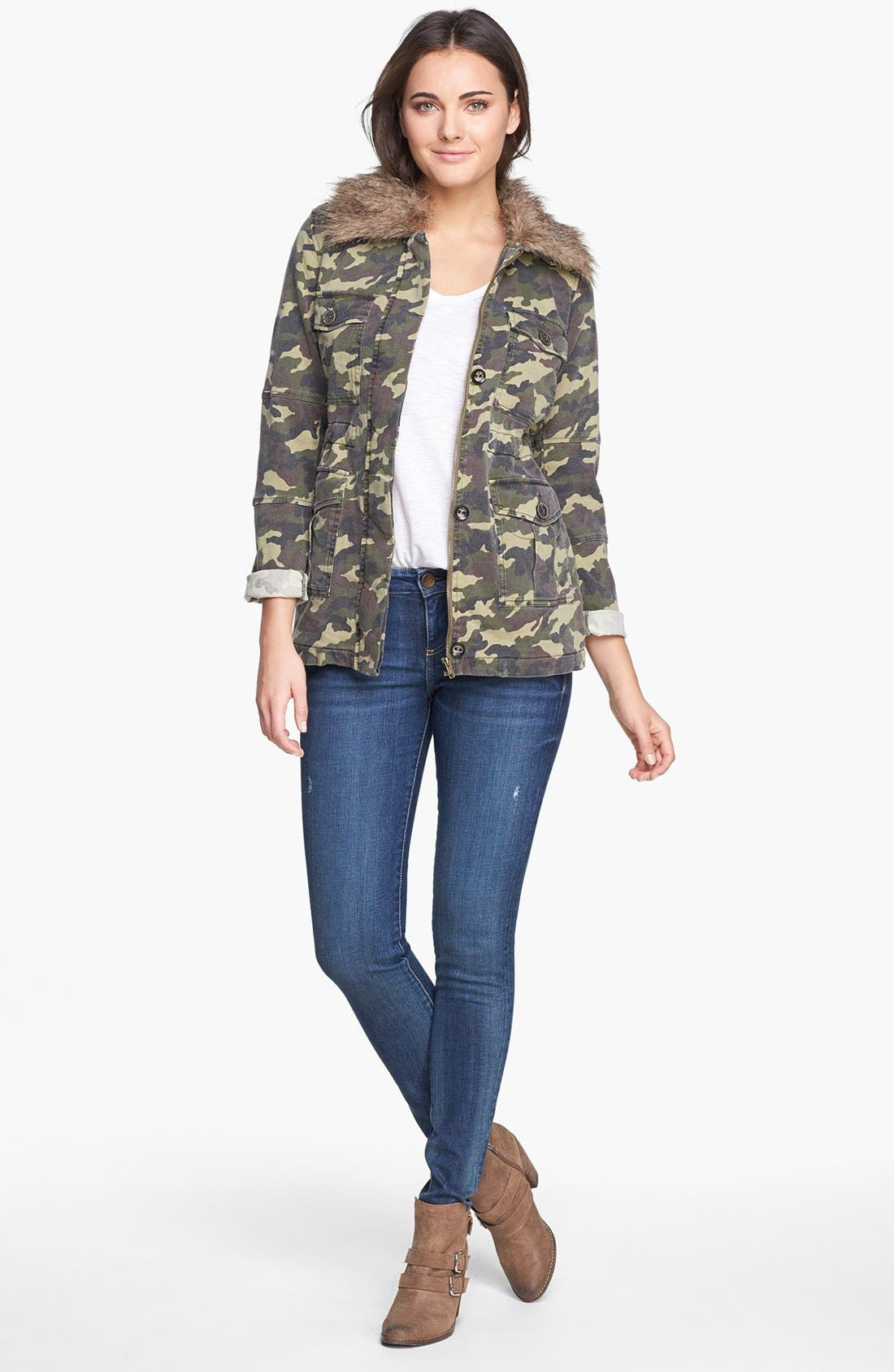 Alternate Image 4  - KUT from the Kloth 'Nolan' Camo Print Jacket