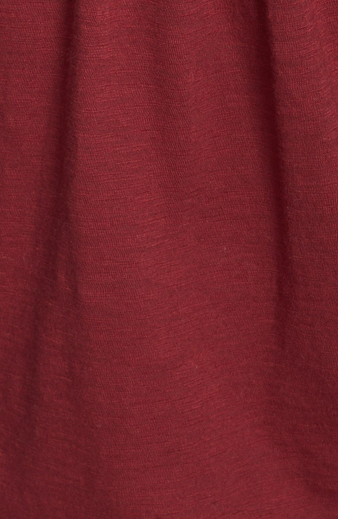 Alternate Image 3  - Lucky Brand Lace Tuxedo Bib Top