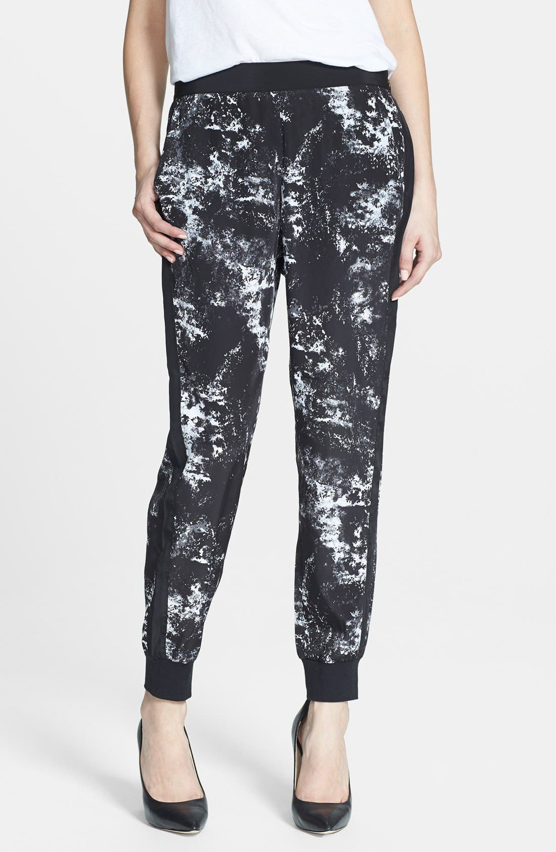 Alternate Image 1 Selected - Trouvé Print Tapered Pants