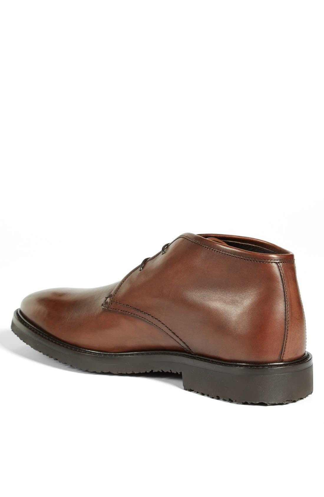 Alternate Image 2  - Ermenegildo Zegna Leather Chukka Boot