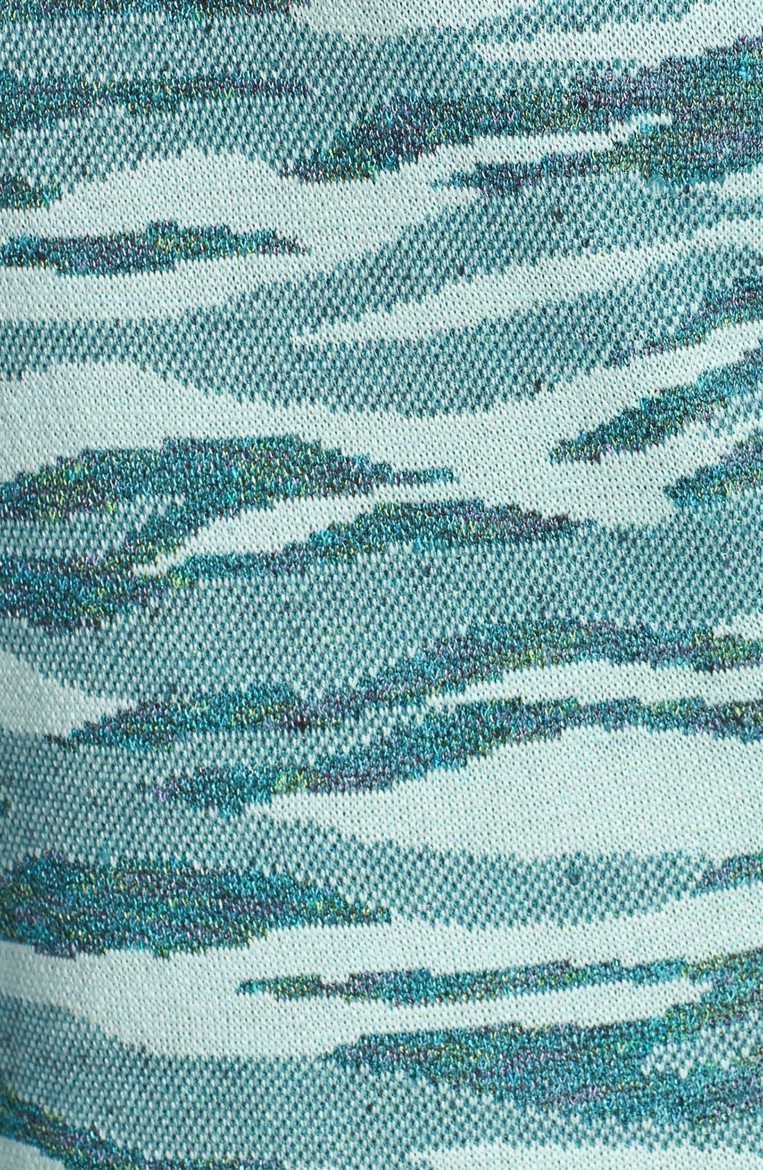 Alternate Image 5  - St. John Collection Tiger Camo Jacquard Knit Topper