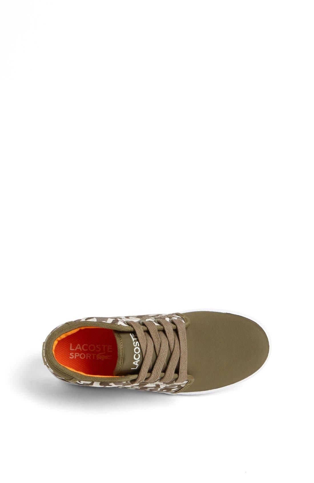 Alternate Image 3  - Lacoste 'Ampthill' Sneaker (Baby, Walker, Toddler, Little Kid & Big Kid)