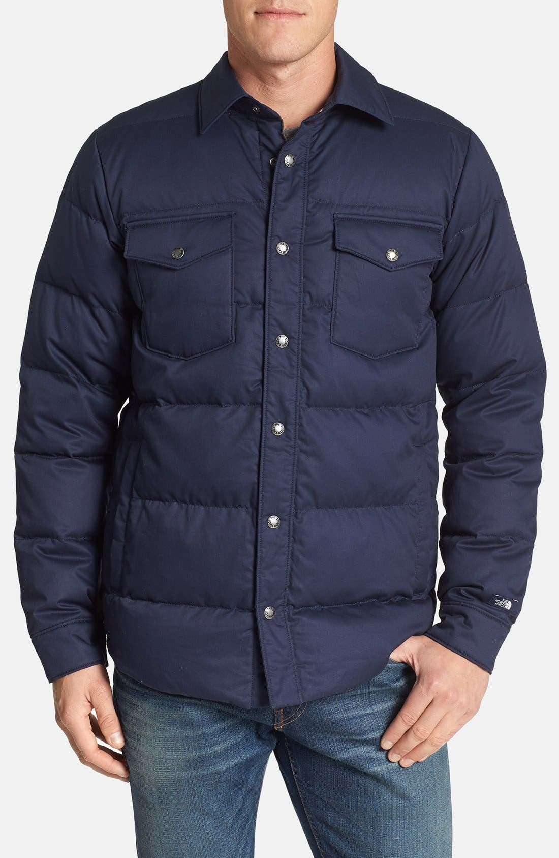 Main Image - The North Face 'Cook' Down Shirt Jacket