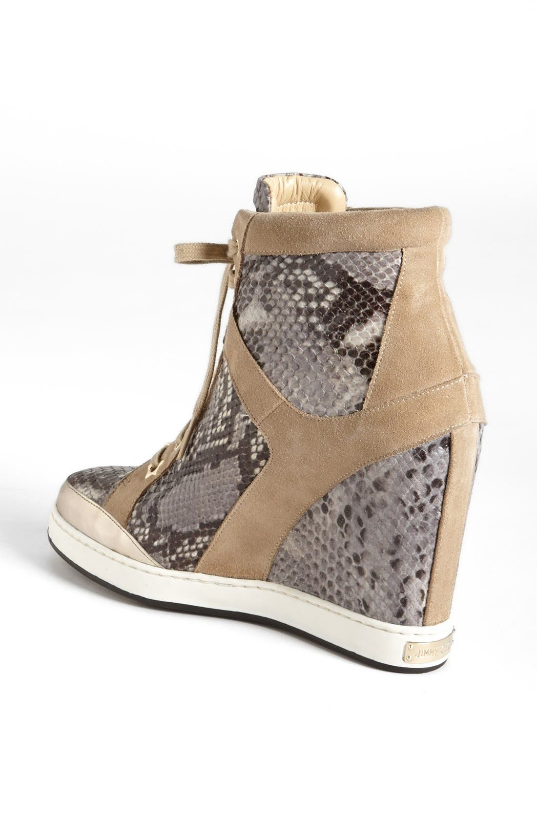 Alternate Image 2  - Jimmy Choo 'Panama' Wedge Sneaker