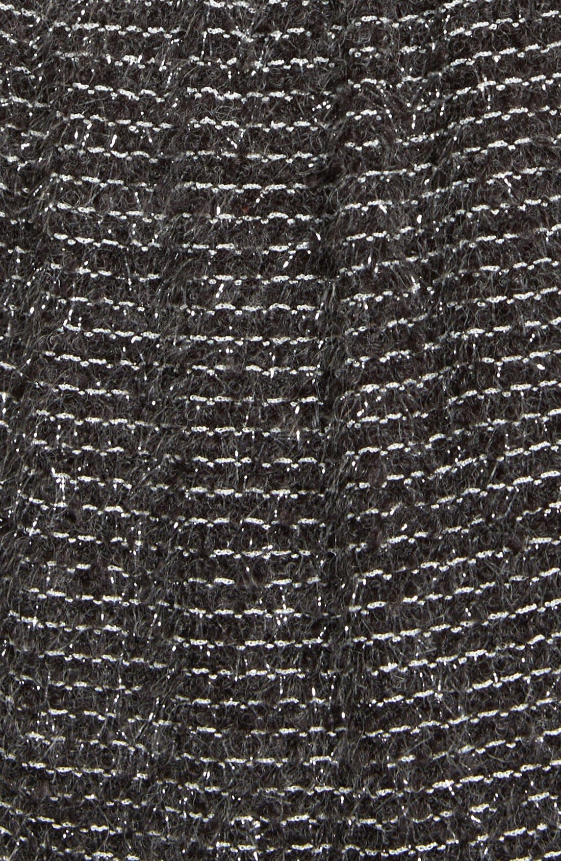 Alternate Image 3  - Socialite Textured Skater Dress (Juniors)