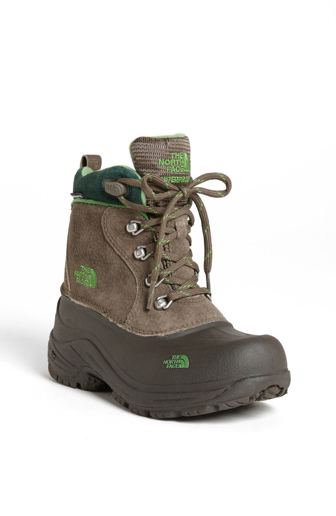 Alternate Image 1 Selected - The North Face 'Chilkats' Lace Up Waterproof Snow Boot (Toddler, Little Kid & Big Kid)