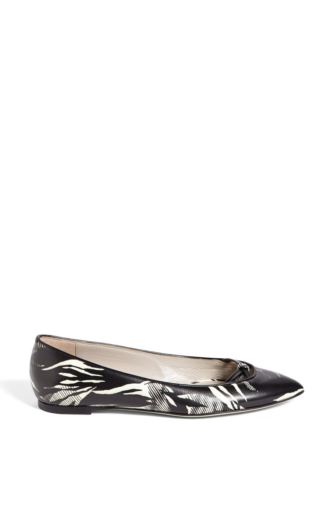 Alternate Image 4  - Jason Wu Tropical Print Ballet Flat