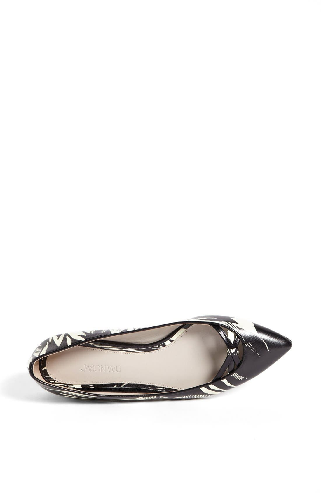 Alternate Image 3  - Jason Wu Tropical Print Ballet Flat