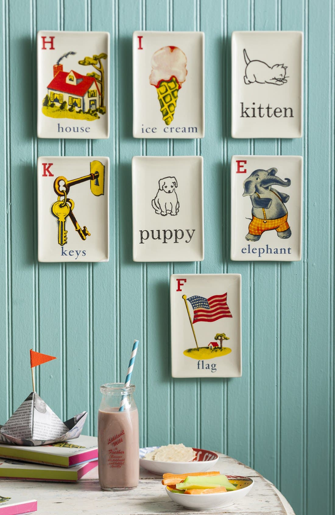 Alternate Image 3  - Rosanna 'Flash Cards - Kitten' Porcelain Tray