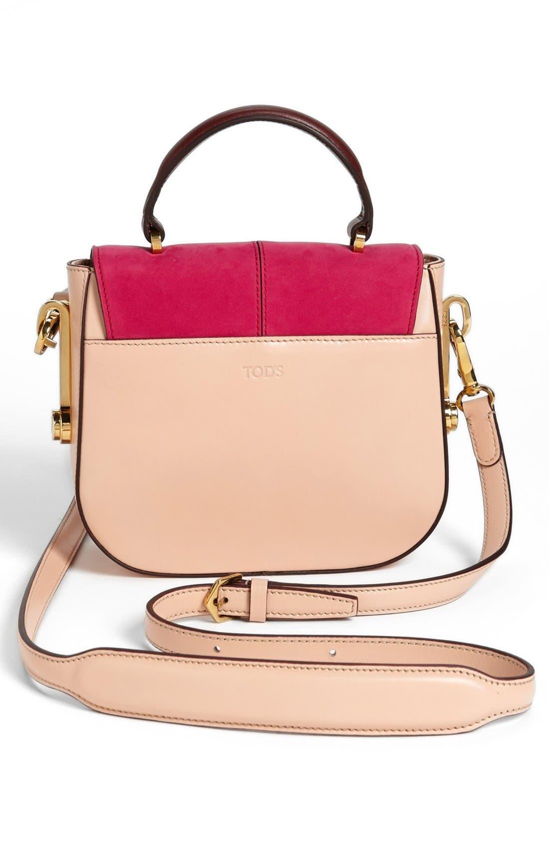 Alternate Image 4  - Tod's 'Racing Bandoliera - Mini' Crossbody Bag