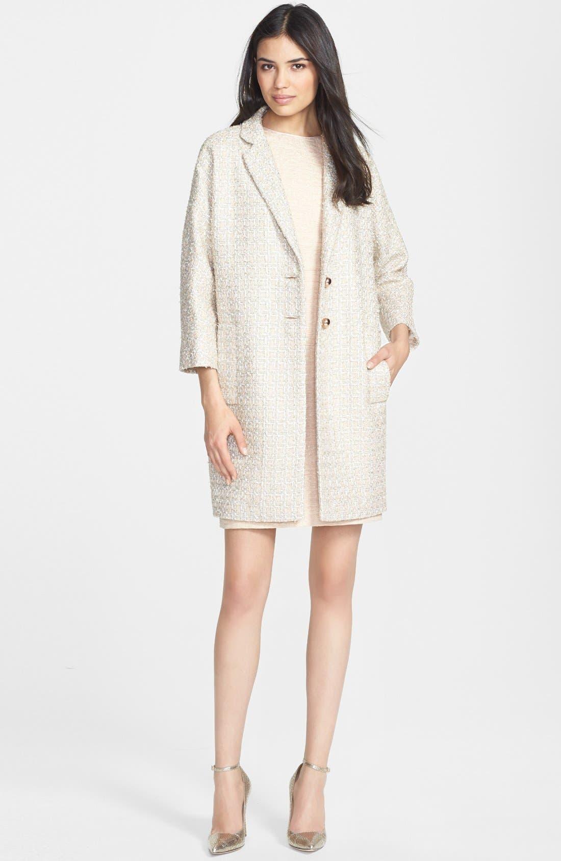 Alternate Image 1 Selected - kate spade new york coat & sheath dress