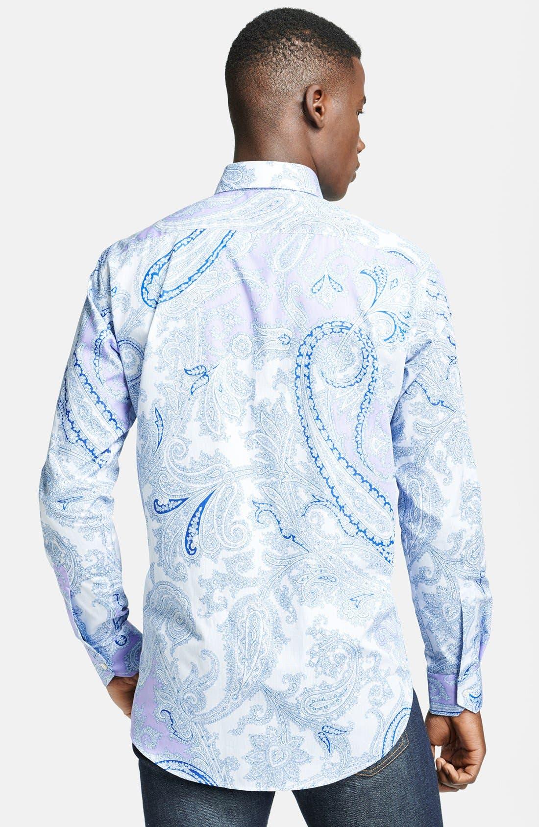 Alternate Image 2  - Etro Paisley Print Cotton Dress Shirt
