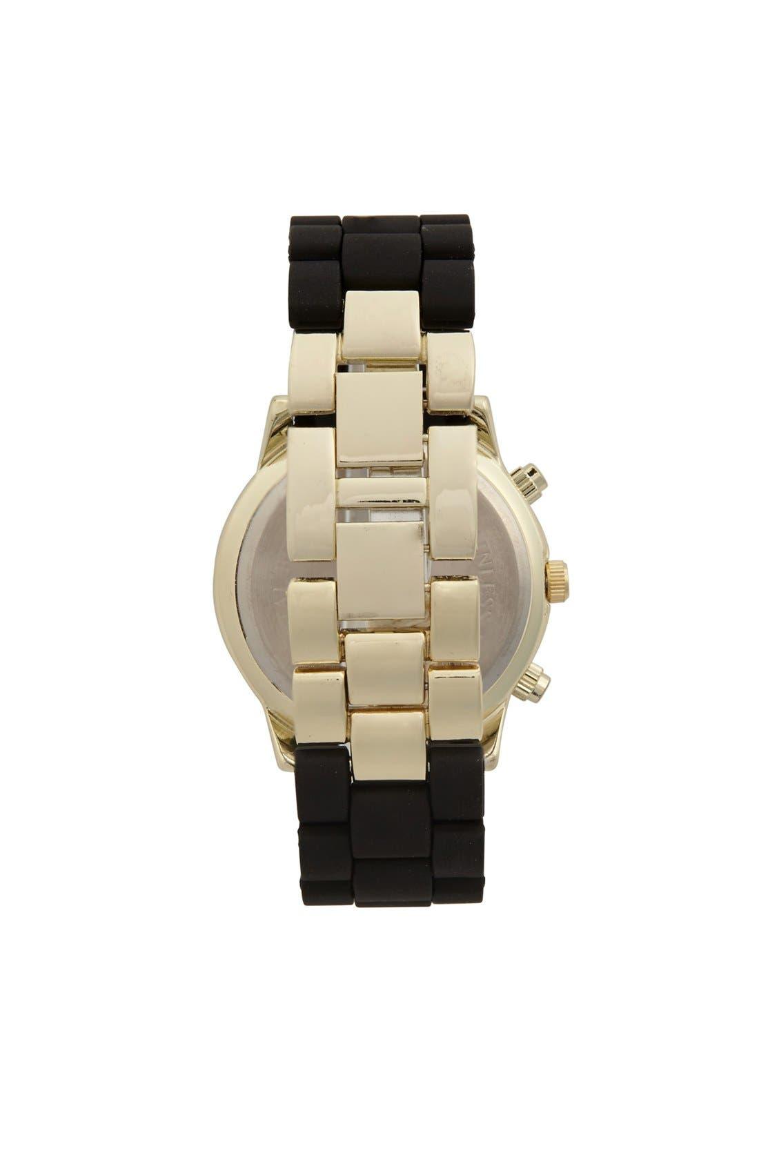 Alternate Image 2  - Titanium Rubber Strap Bracelet Watch, 45mm (Juniors) (Online Only)