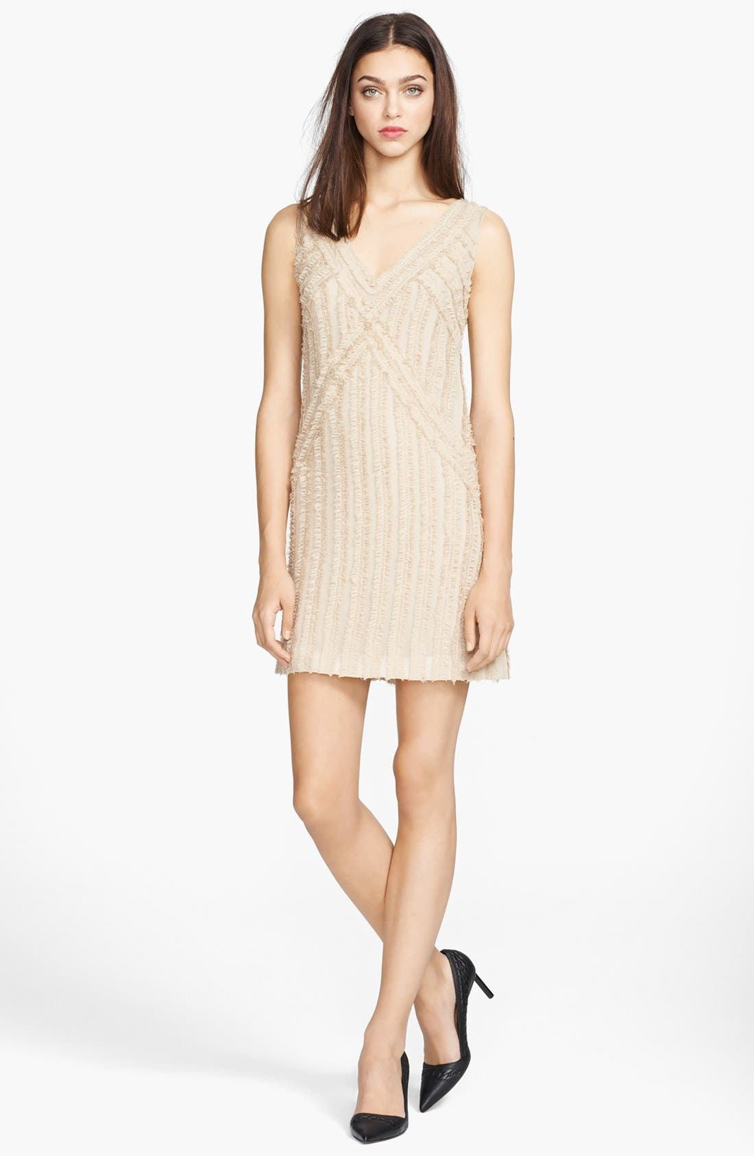 Alternate Image 1 Selected - Rachel Zoe 'Rita' Shirred Chiffon Dress