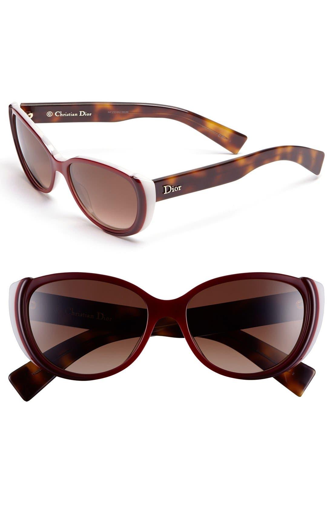 Alternate Image 1 Selected - Dior 'Summer 2' 55mm Retro Sunglasses