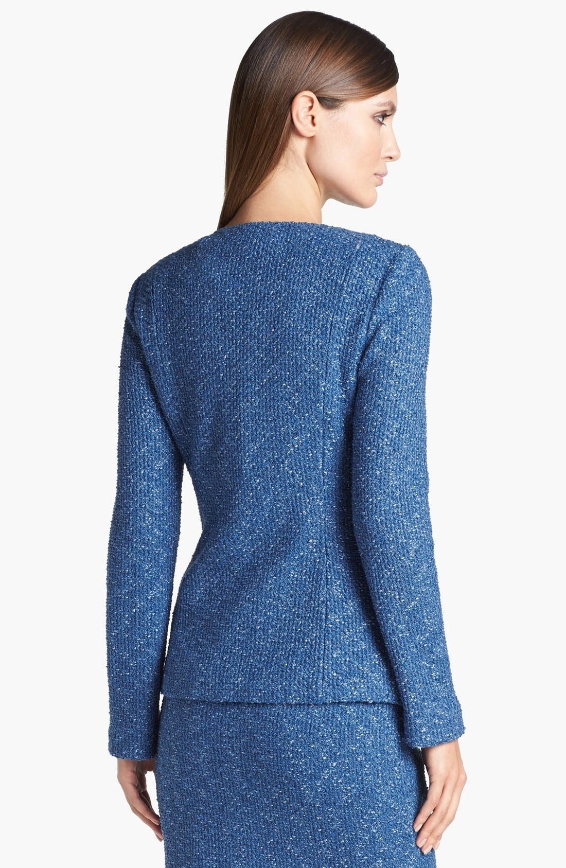 Alternate Image 5  - St. John Collection Flecked Tweed Jacket