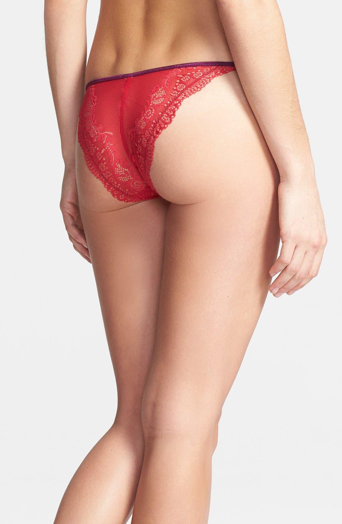 Alternate Image 2  - DKNY 'Lovely Lace' Bikini