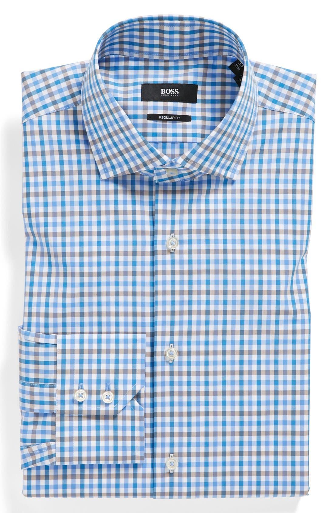 Main Image - BOSS HUGO BOSS 'Gorman' WW Regular Fit Dress Shirt