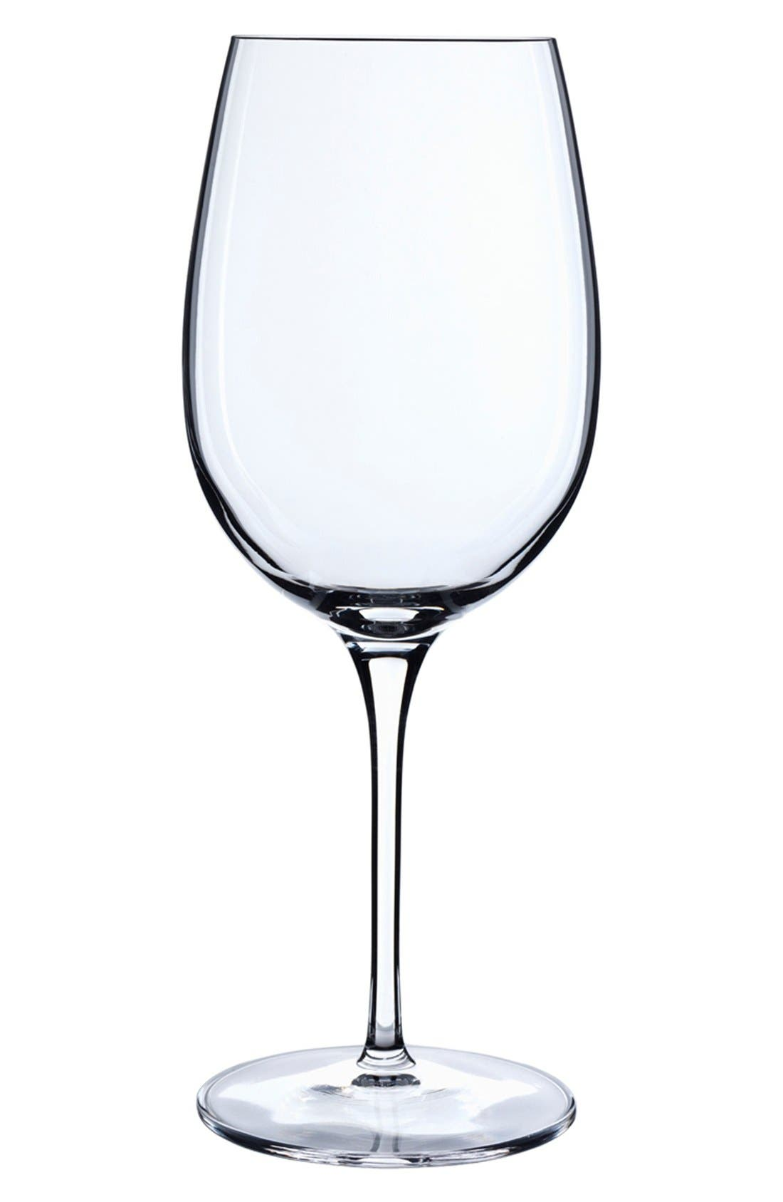 'Crescendo' Bordeaux Glasses,                             Main thumbnail 1, color,                             Clear