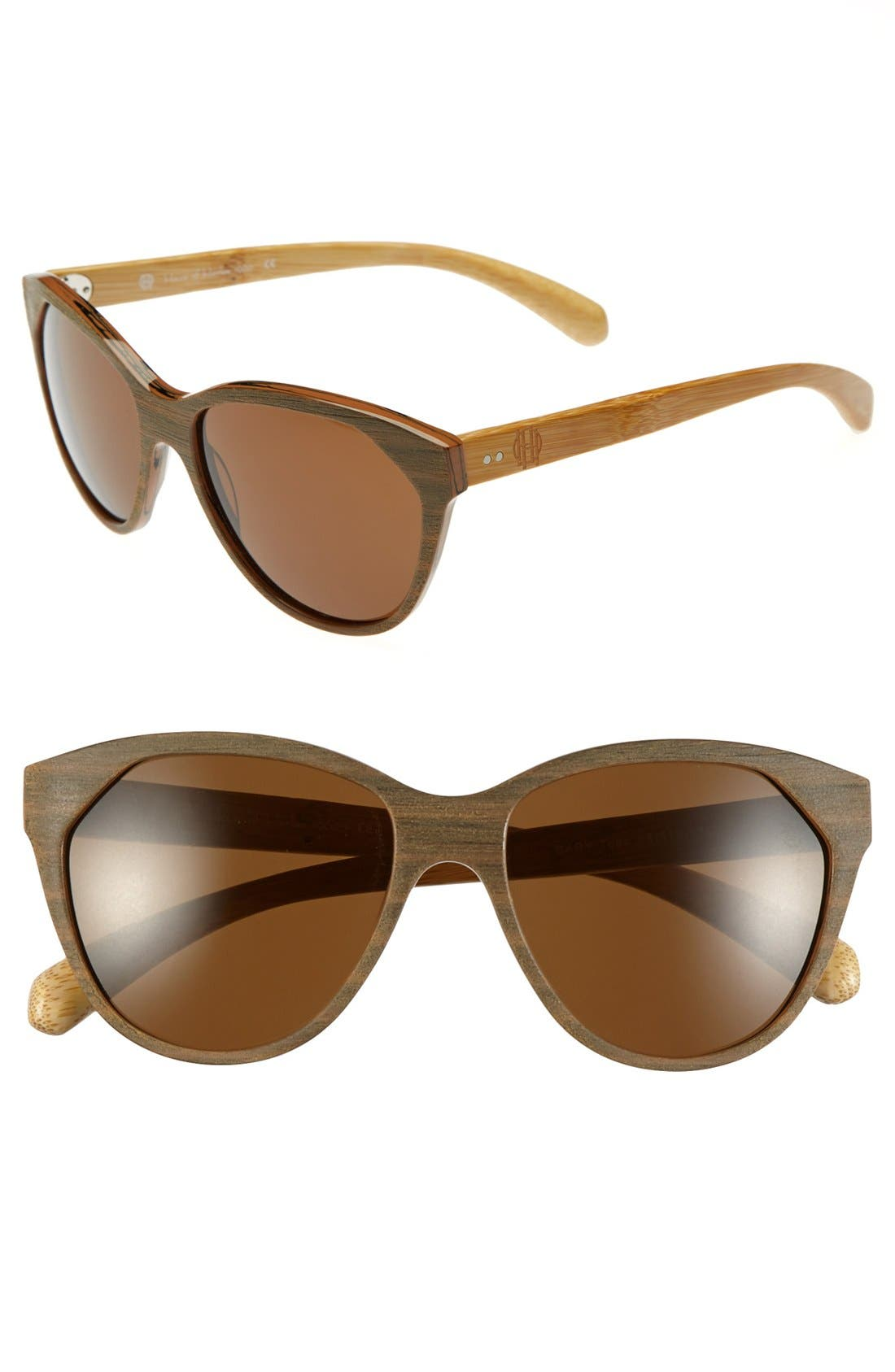 Main Image - House of Harlow 1960 'Cary' 55mm Sunglasses